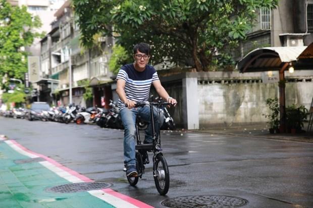 越騎越賺錢的自行車!米騎生活體驗門市+騎記電助力摺疊自行車國際版試乘分享 IMG_6860