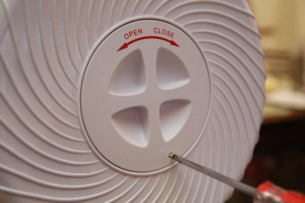 「Day Plus 空氣濾淨創風機」電扇+空氣清淨機合體 製造乾淨空氣、節省居家空間 IMG_6934