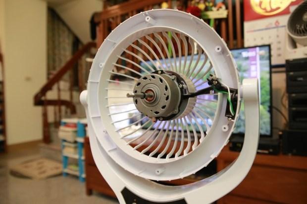 「Day Plus 空氣濾淨創風機」電扇+空氣清淨機合體 製造乾淨空氣、節省居家空間 IMG_6953