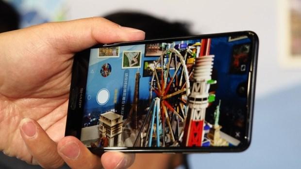 日系品牌 SHARP 推出無邊框新機 AQUOS S2,多項特色極似傳說中的 iPhone 8 8150408