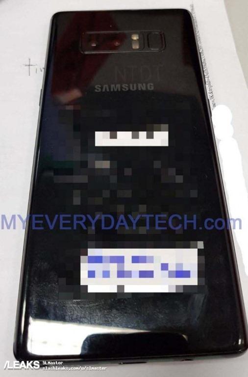 三星 Galaxy Note8 、S Pen 實機照流出!帶你搶先一步看 galaxy-note8-leak-1