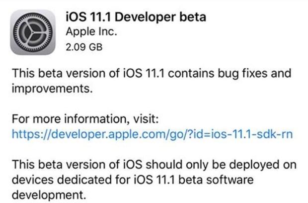 iOS 11.1 開發者版本釋出,可望解決耗電與發熱問題 22008397_10211619644460763_1872553662148206076_n
