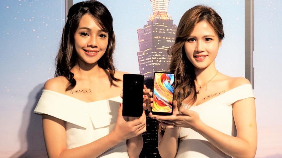 全面屏手機始祖「小米 MIX 2」正式在台灣上市,大螢幕佔比 14,999 輕鬆入手 A191767
