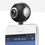 ASUS 發表 360 度全景攝影機,超精巧外觀,支援 2K 錄影!