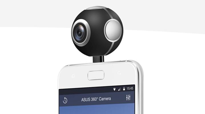 ASUS 360 度全景攝影機