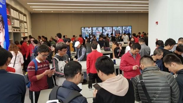 全球最大!深圳小米之家旗艦店深度體驗行 20171126_145218