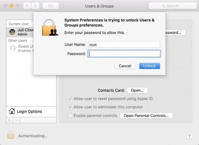 重要!macOS High Sierra 重大漏洞,Apple 發布發布安全性更新 640_843be3d83a3070102ffce4994421c1f8