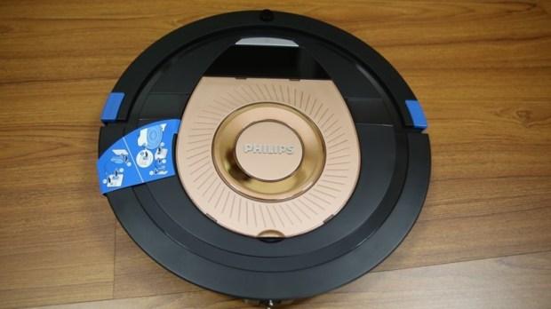 [史上最便宜] 飛利浦掃地機器人(FC8776/31)推薦,超薄機身家具底下空間輕鬆深入清潔 image003
