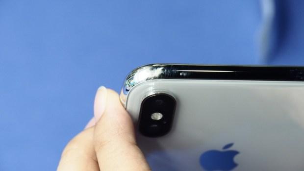 iPhone X 金屬邊框居然超脆弱!推薦你到這邊來體驗超完整包膜 B132127