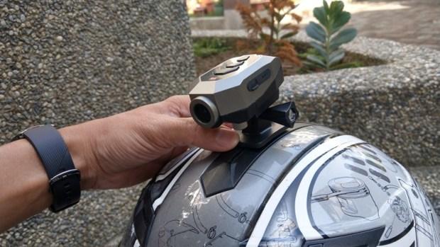 推薦「大通B52X機車跨界行車紀錄器」,IPX5防水、1296P超高畫質內建電池可錄2.5小時 IMAG1282