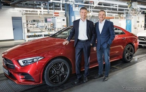 全新第三代 Mercedes-Benz CLS Coupe 正式下線 1267170