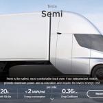 電動卡車要來了!Tesla Semi 開始進行道路測試