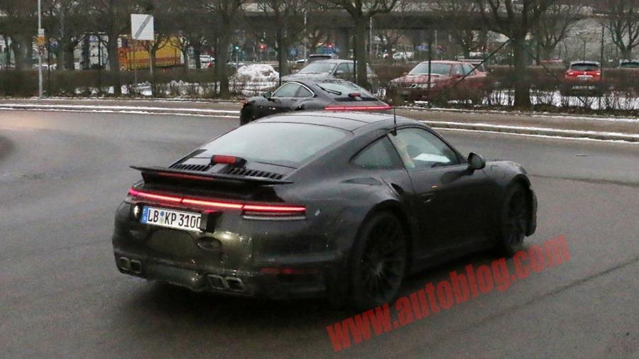 新一代 Porsche 911 Turbo 間諜照曝光 porsche-992-turbo-10-copy-1
