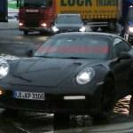新一代 Porsche 911 Turbo 間諜照曝光