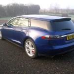 電動車多了新成員,以 Tesla Model S 改造的 Shooting Brake