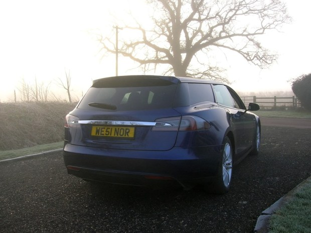 電動車多了新成員,以 Tesla Model S 改造的 Shooting Brake tesla-shooting-brake-london-show-3-1