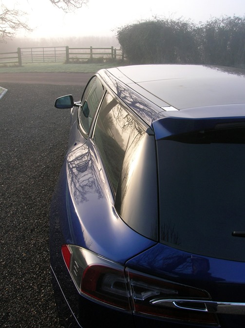 電動車多了新成員,以 Tesla Model S 改造的 Shooting Brake tesla-shooting-brake-london-show-5-1