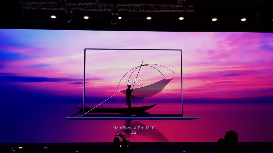 [MWC 2018] 華為正式發表 MateBook X Pro 及 MediaPad M5/M5 Pro 20180225_141030