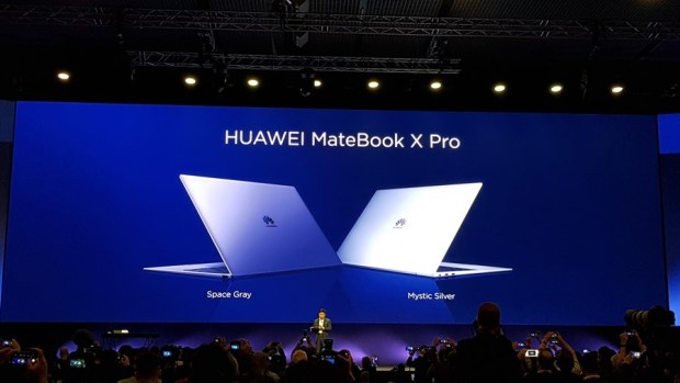 [MWC 2018] 華為正式發表 MateBook X Pro 及 MediaPad M5/M5 Pro 20180225_141330