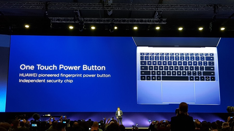 [MWC 2018] 華為正式發表 MateBook X Pro 及 MediaPad M5/M5 Pro 20180225_141816