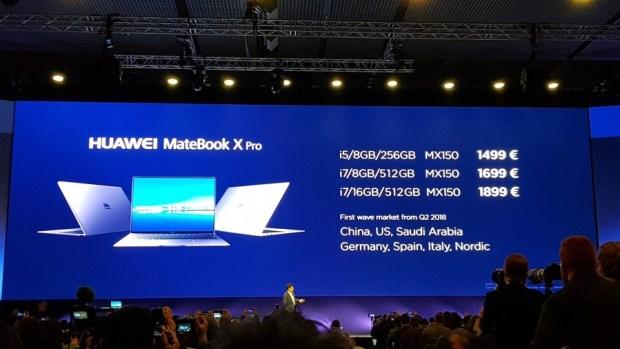 [MWC 2018] 華為正式發表 MateBook X Pro 及 MediaPad M5/M5 Pro 20180225_144341