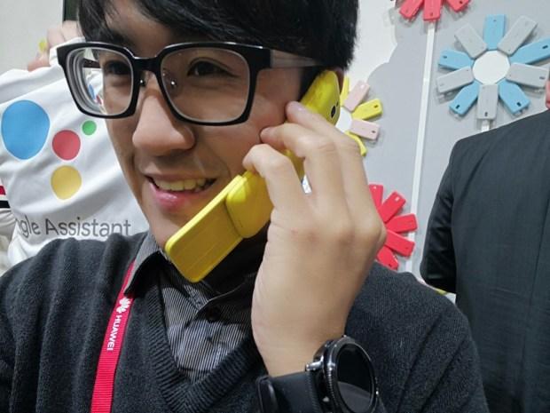 [MWC 2018] 醞釀22年,Nokia 8110 Reloaded 香蕉機再現經典 28337058_10212810989443643_8435113403330251771_o