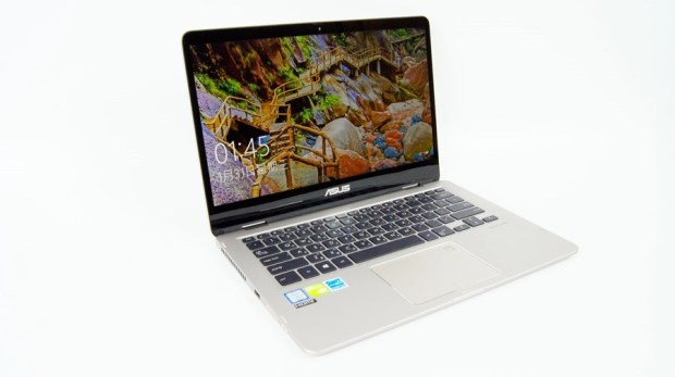 13 小時超長續航!ASUS ZenBook Flip 14 360° 翻轉筆電 評測 (UX461) DSC7684