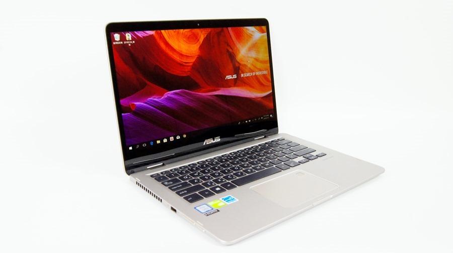 13 小時超長續航!ASUS ZenBook Flip 14 360° 翻轉筆電 評測 (UX461) DSC7686