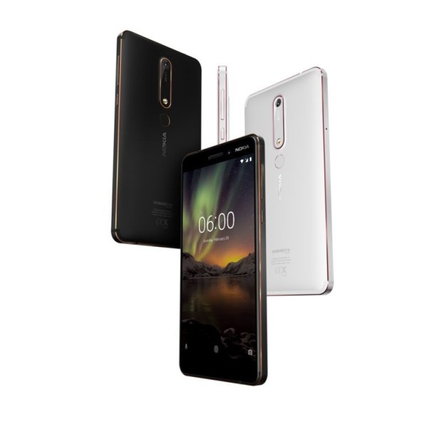 [MWC 2018] 再現經典 Nokia 8110 4G 版亮相,多款 Nokia Android 手機同步登場 Nokia-6