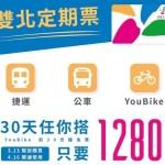 捷運通勤超省錢,雙北交通定期票 30 日無限搭公車捷運只要 1280 元