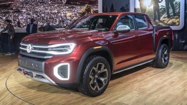 全新 VW 皮卡概念車 Atlas Tanoak,真的有帥! 03-vw-atlas-tanoak-concept-ny-1