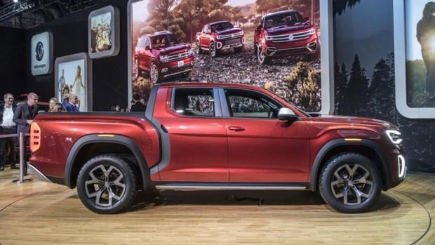 全新 VW 皮卡概念車 Atlas Tanoak,真的有帥! 05-vw-atlas-tanoak-concept-ny-1