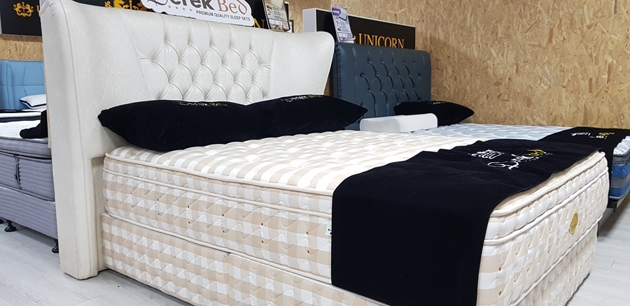 [床墊推薦] 德瑞克頂級馬毛床墊,再翻都不會吵醒枕邊人 20170913_171528