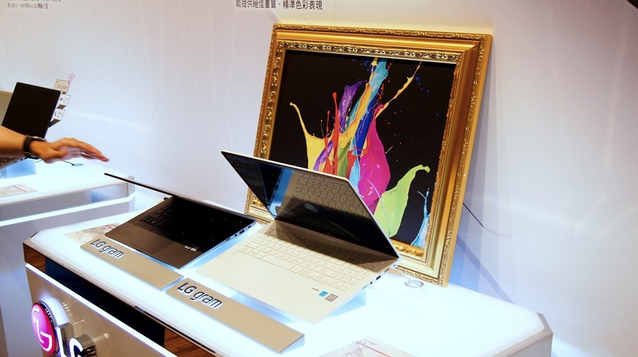LG gram 筆電登台,這麼輕根本不科學! DSC8013