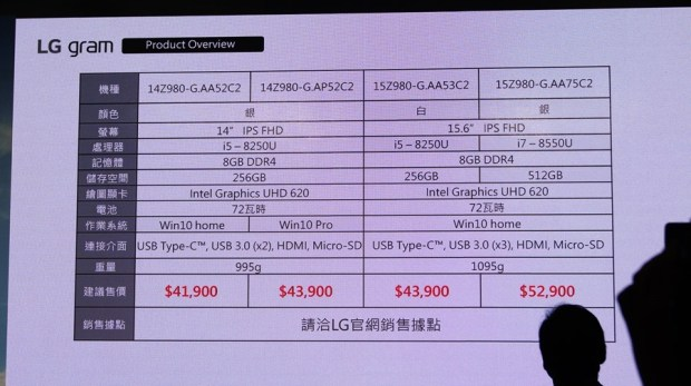 LG gram 筆電登台,這麼輕根本不科學! DSC8070