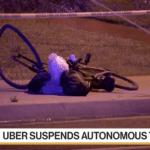 Uber自動駕駛車首次撞死路人,自駕測試緊急計畫喊停