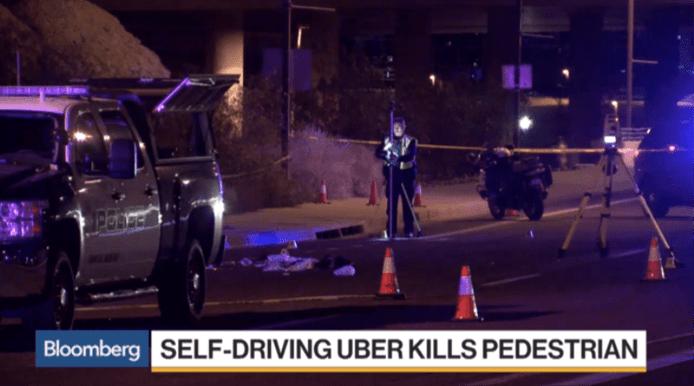 Uber 自動駕駛 事故