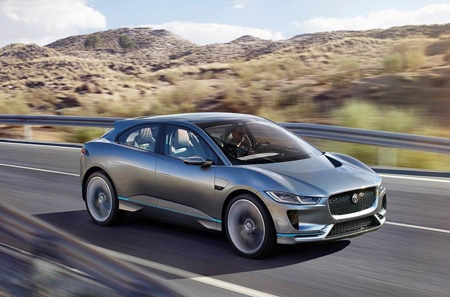 Jaguar 首輛 SUV 電動車對上 Tesla Model X,是「電豹」還是「電爆」?! ipace01