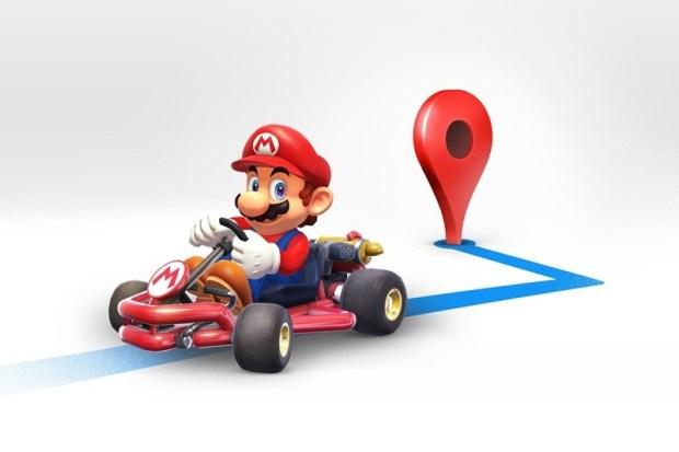 慶祝瑪利歐日,今天瑪利歐賽車開進 Google 地圖當導航員囉! mario_map_narrow.0