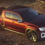 全新 VW 皮卡概念車 Atlas Tanoak,真的有帥!