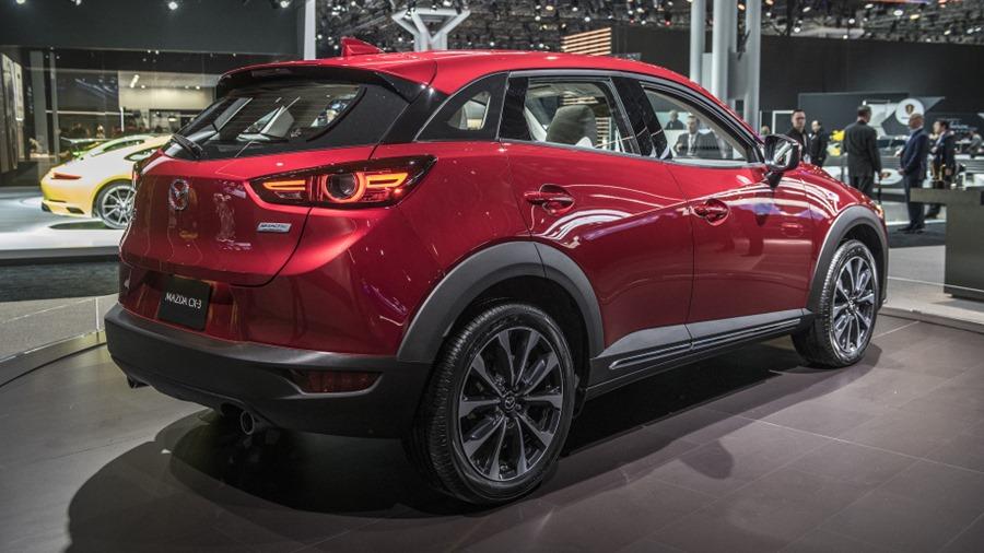 Mazda 小改款 CX-3 新發表,宛如縮小版 CX-5 04-2019-mazda-cx-3-ny-1