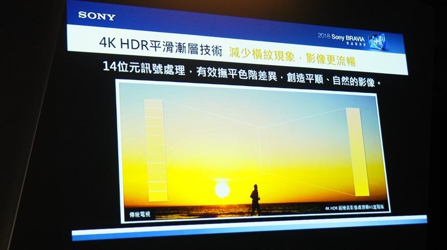 影像與色彩表現再升級,2018 Sony Bravia 電視全系列發表 DSC9775