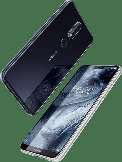 "Nokia X 系列手機 Nokia X6 正式在北京發表,""又""一款瀏海螢幕設計 Nokia-X6"