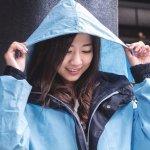 給機車通勤族的全球首件純棉式雨衣