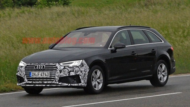Audi A4 小改款被捕獲,外觀變化不大 audi-a4-facelift-1-1