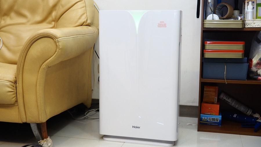 [評測] 海爾 AP450(大H) 除甲醛空氣清淨機,超厚實濾網幫你快速過濾髒空氣 1013529