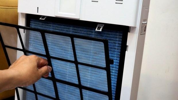 [評測] 海爾 AP450(大H) 除甲醛空氣清淨機,超厚實濾網幫你快速過濾髒空氣 1013572