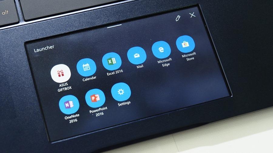 華碩「雙螢幕」筆電 ZenBook Pro 15,把觸控板變螢幕 6064249