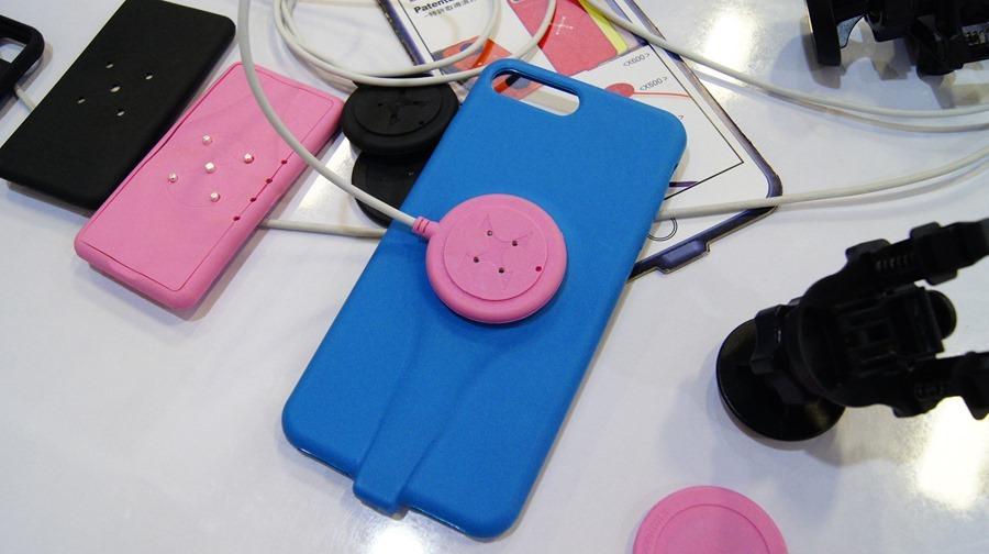 是手機保護殼,也是充電裝置,磁吸式手機充電保護殼 DSC9994