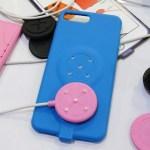 是手機保護殼,也是充電裝置,磁吸式手機充電保護殼